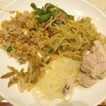 73375708 - 台湾チャーハン・青椒肉絲・焼きビーフン・棒棒鶏・春雨・ザーサイ