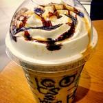 スターバックス・コーヒー - ほうじ茶       クリーム フラペチーノ       with キャラメルソース