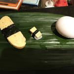 寿し丸 - 卵と玉子で大きさ比較だよ~嬉しすぎ~♪
