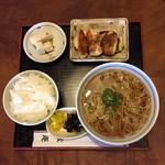 松庵 - 料理写真:蕎麦定食  ¥1000