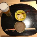 寿し丸 - とりビーとうなぎ豆腐♪
