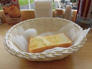 喫茶 ラクーン - トースト&ゆで玉子