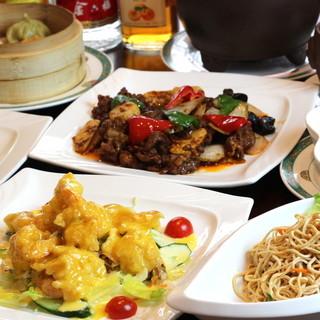 本場中国で研鑽を積んだシェフが作る絶品上海料理が【食べ放題】