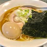 73379423 - 味玉らぁめん(醤油・大盛り)【料理】