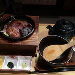 だよね。 - 和牛の炙り茶漬け
