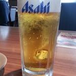 北の味紀行と地酒 北海道 - 生ビールはスーパードライ通常590円