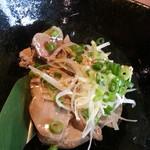 北の味紀行と地酒 北海道 - 北の黄金鶏塩レバー530円