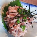 北の味紀行と地酒 北海道 - 鮪梅水晶590円