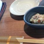 北の味紀行と地酒 北海道 - お通し400円など