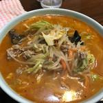 寺川食堂 - 料理写真:辛みそタンメン ¥750