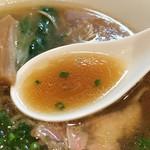 麺匠 きくち - 清湯でもトロリと濃厚