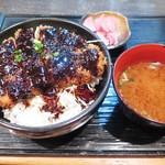 Sakuton - 味噌かつ丼550円(税込)