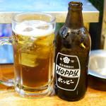 立飲み たきおか - 黒ホッピー@税込410円