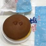 菓匠 京山 - 料理写真:塩どら焼き