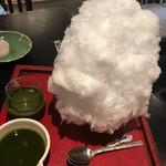 ちゃ大和園 - 煎茶のソースと抹茶ソース