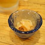 日本料理里乃や - アワビの塩辛