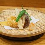 日本料理里乃や - 天ぷら