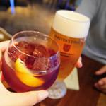 イタリアン&グリル アクア イルフォルノ - 乾杯♪