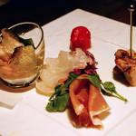 イタリアン&グリル アクア イルフォルノ - 前菜5種盛り合わせ