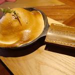 イタリアン&グリル アクア イルフォルノ - 焼きマシュマロと季節フルーツのドーム