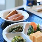カフェ・ダイニング パームツリー - お野菜たっぷりの朝ごはん
