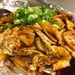 お好み焼き 越田 - 豚キムチ