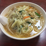 生駒軒 - 激辛タンメンレベル2