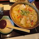 73389554 - 野菜ちゃんぽんうどん…税抜990円