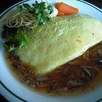やまぼうし - 料理写真:オムライス 山菜