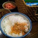 麺の坊 砦 - こだわりご飯!種類豊富なふりかけ