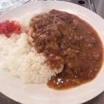 赤坂食肉センター - 牛スジカレー500円(大盛無料)