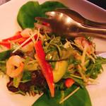 一慶 - チリソースのサラダ