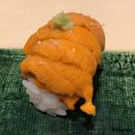 寿司割烹 魚紋 - 海胆