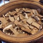 73391661 - 松茸の炊込みごはん