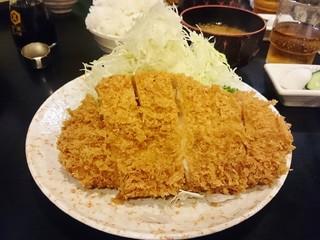 とんかつ かつ壱 - ロースかつ定食