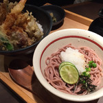 五穀 - 料理写真:天丼そばセット
