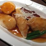 五穀 - 白身魚の黒酢