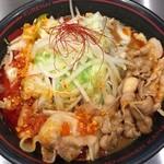 麺創研 紅 - 紅ラーメン800円