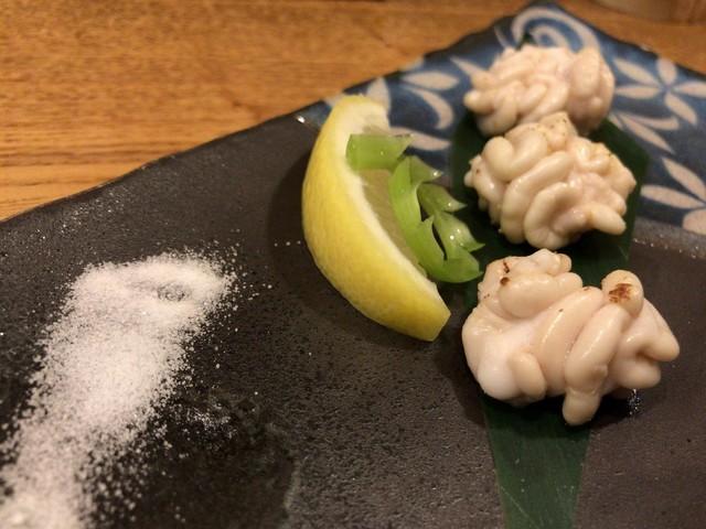 居酒屋おかん - タラキク 白焼き