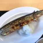 監獄食堂 - 焼魚 秋刀魚