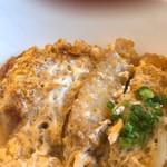 ぶたや - 料理写真:トンカツ煮定食