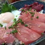 銀次郎 - 三種の鉄火丼