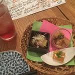 瀬戸内鮮魚と串焼き UZU - お通し