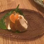 瀬戸内鮮魚と串焼き UZU - 奈良漬けクリームチーズ