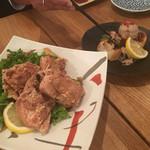 瀬戸内鮮魚と串焼き UZU - 健味鷄 唐揚げ