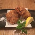 瀬戸内鮮魚と串焼き UZU - 超メンチ。うまいけど999円