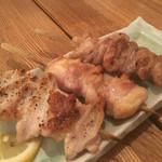 瀬戸内鮮魚と串焼き UZU - 串焼きは相変わらずデカくてうまい