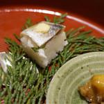 梅田 肉寿司 かじゅある和食 足立屋 -