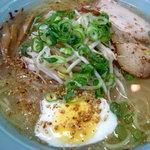 旭川ラーメン - 塩ラーメン550円税別 アッサリしたスープです。08/09
