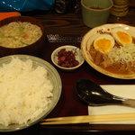 ちょっとら 麹町店 - ランチ(モツ煮定食)